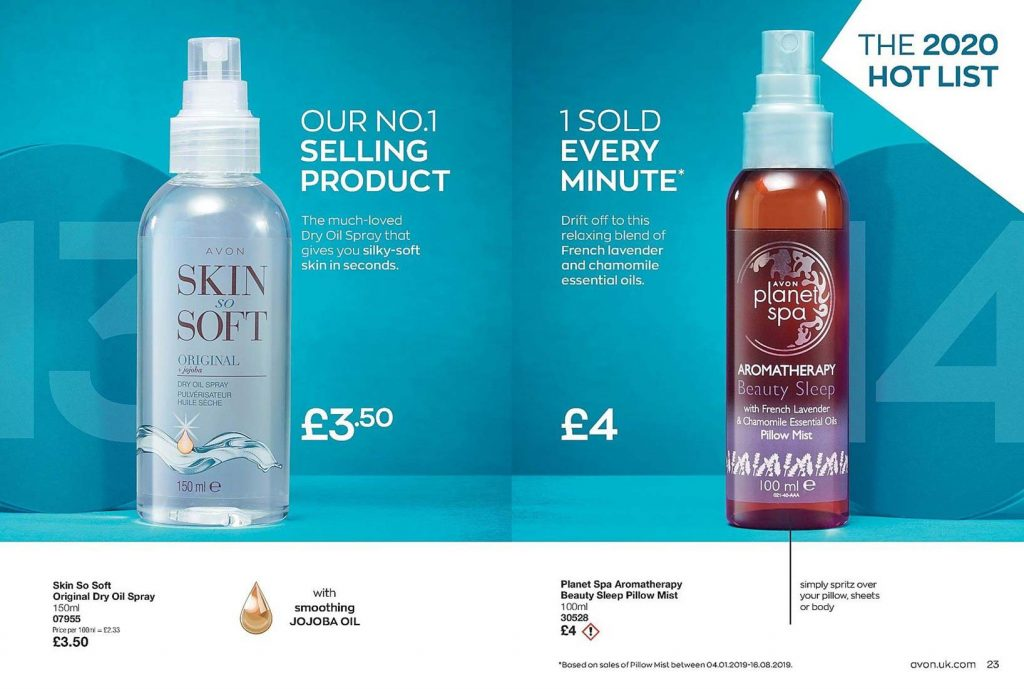 Avon Campaign 3 2020 UK Brochure Online - skin so soft and sleeptherapy