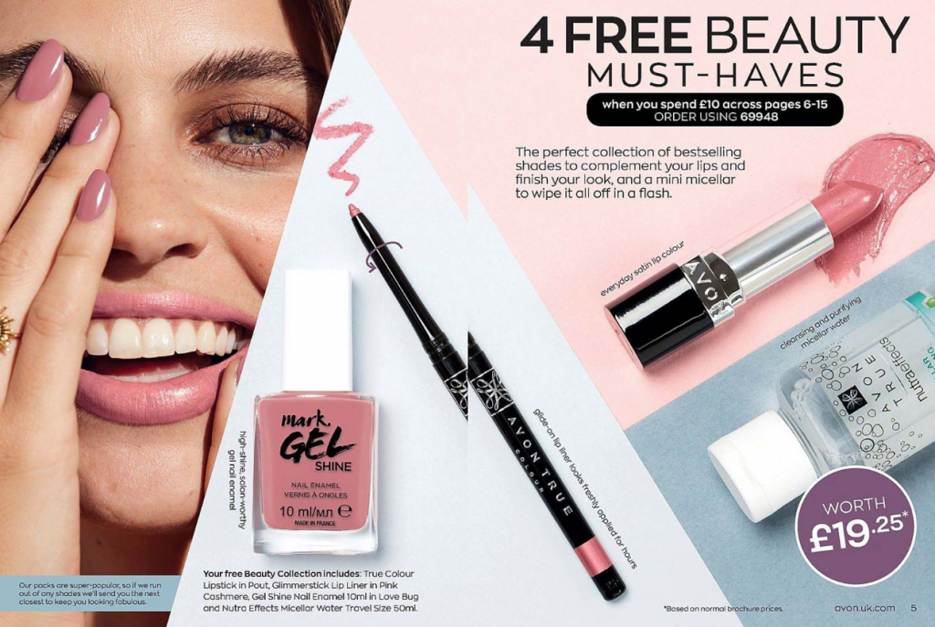 Avon Campaign 4 2020 UK Brochure Online - four free beauty must haves