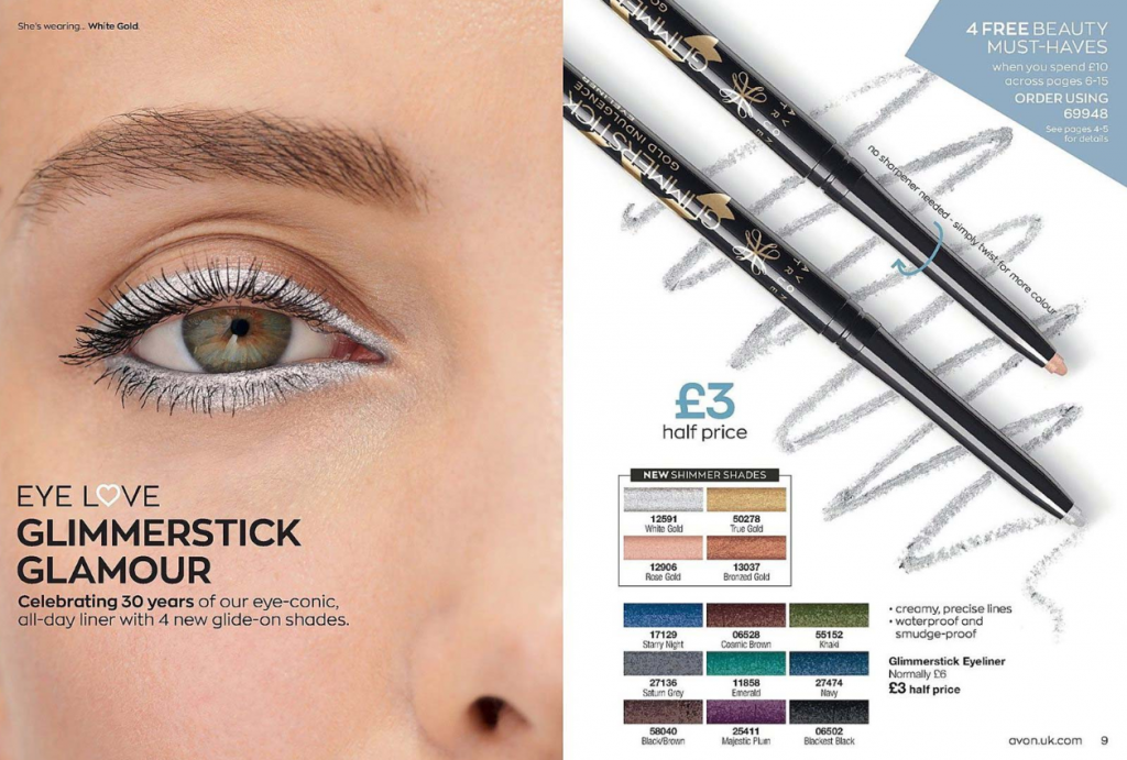 Avon Campaign 4 2020 UK Brochure Online - new glimmersticks