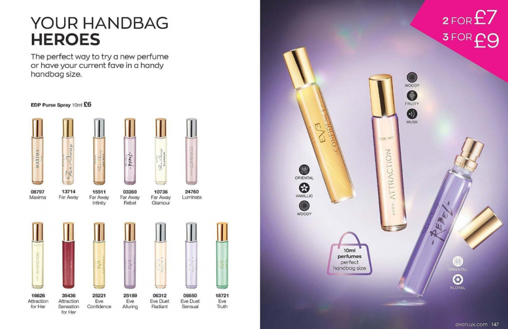 Avon Campaign 4 2020 UK Brochure Online - fragrance handbag heroes