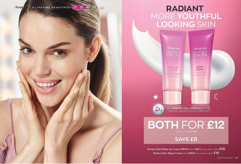 Avon Campaign 4 2020 UK Brochure Online - perfect skin cream