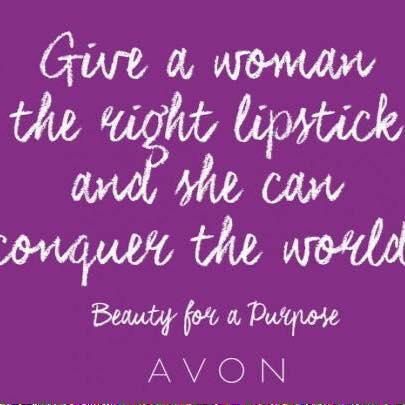 Give a woman the right lipstick and she can conquer the world