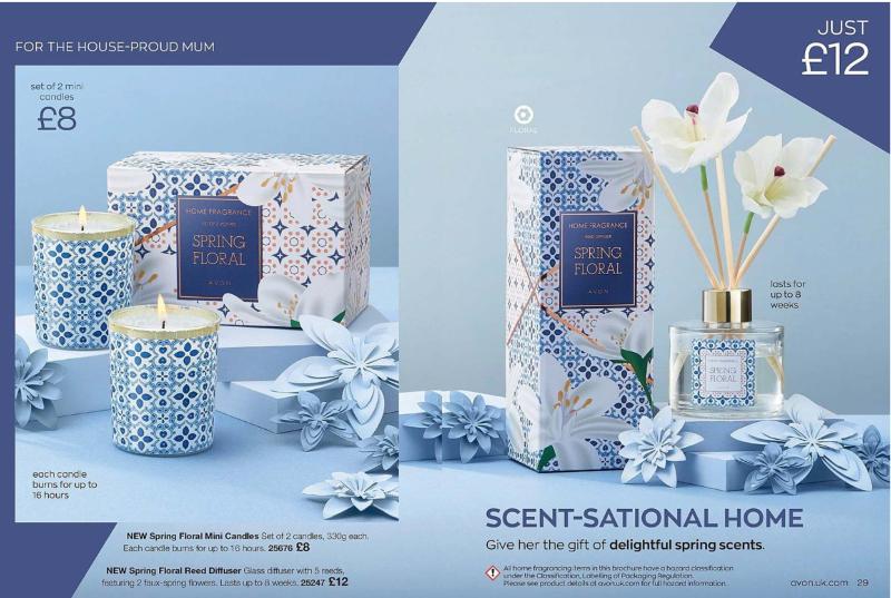 Avon Campaign 5 2020 UK Brochure Online - spring floral