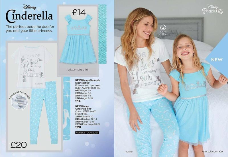 Avon Campaign 5 2020 UK Brochure Online - Cinderella nightwear