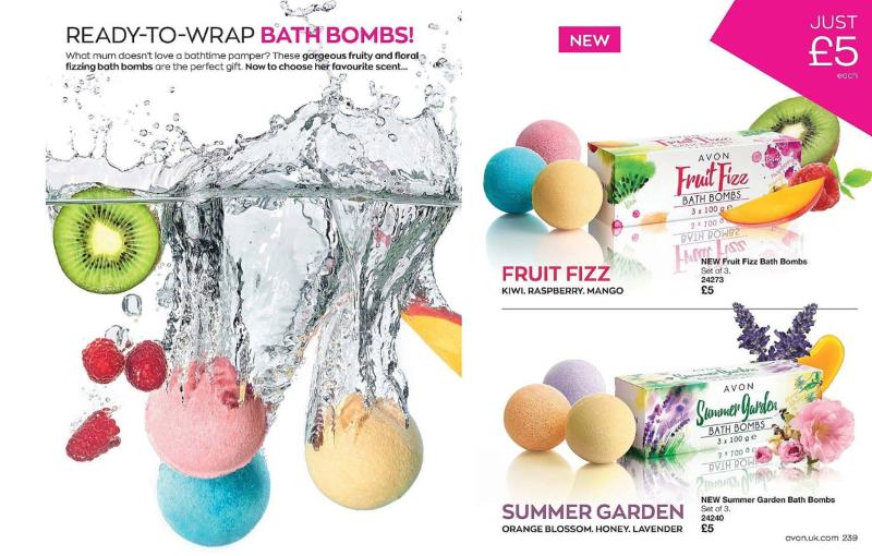 Avon Campaign 5 2020 UK Brochure Online - bath bombs