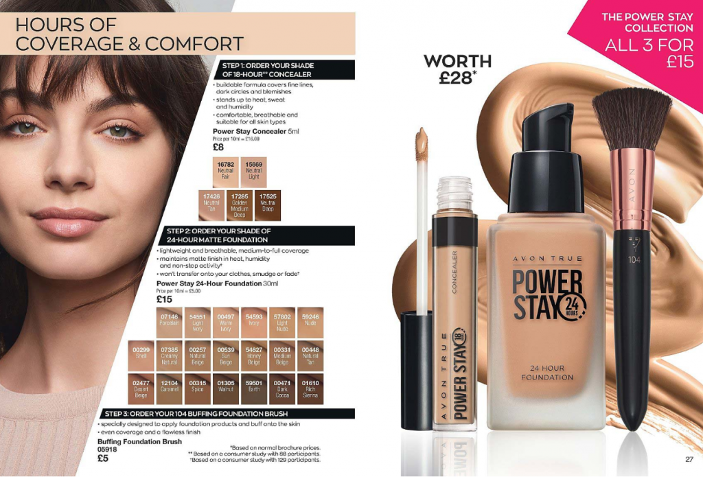 Avon Campaign 6 2020 UK Brochure Online - powerstay makeup