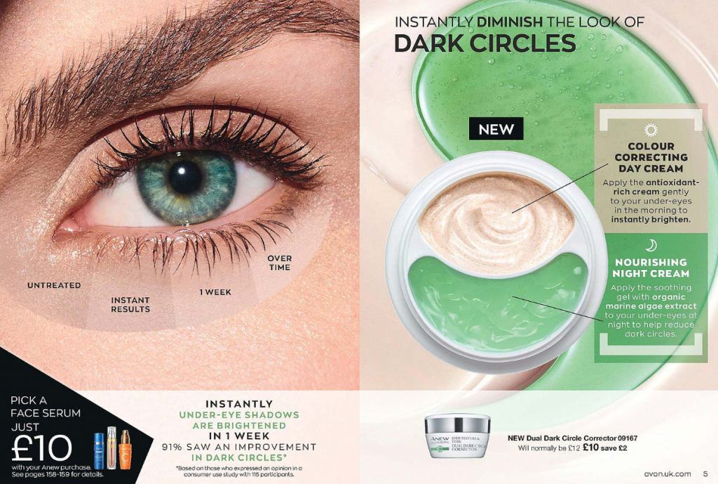 Avon Campaign 6 2020 UK Brochure Online - dual dark eye circle corrector