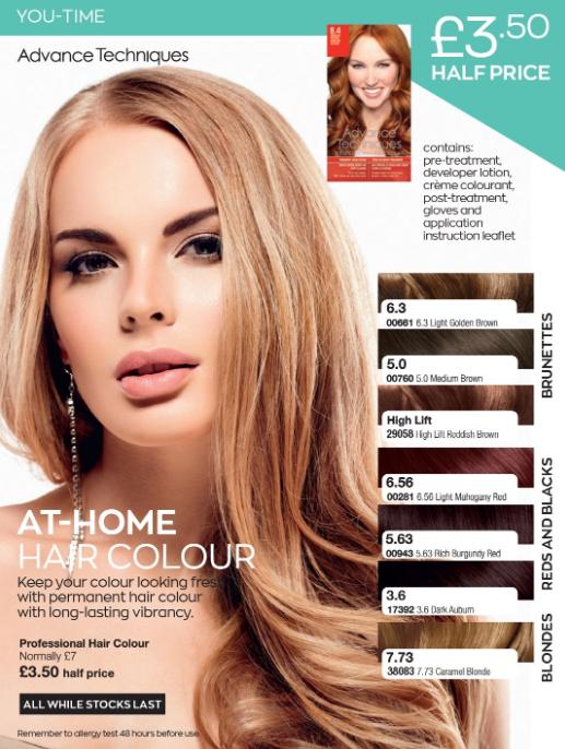 Avon Campaign 7 2020 UK Brochure Online - hair dye and hair colour
