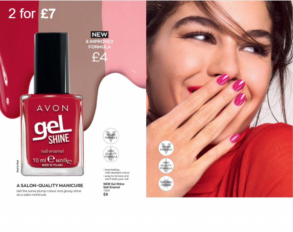 Avon Campaign 7 2020 UK Brochure Online - gel nails