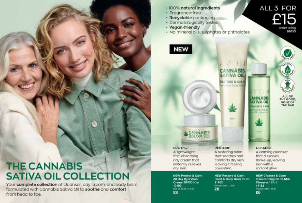 Avon Campaign 7 2020 UK Brochure Online - new cannabis sativa oil collection