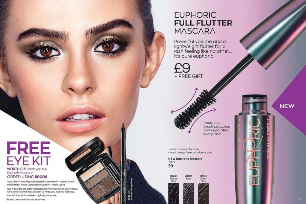 Avon Campaign 8 2020 UK Brochure Online - Euphoric Mascara