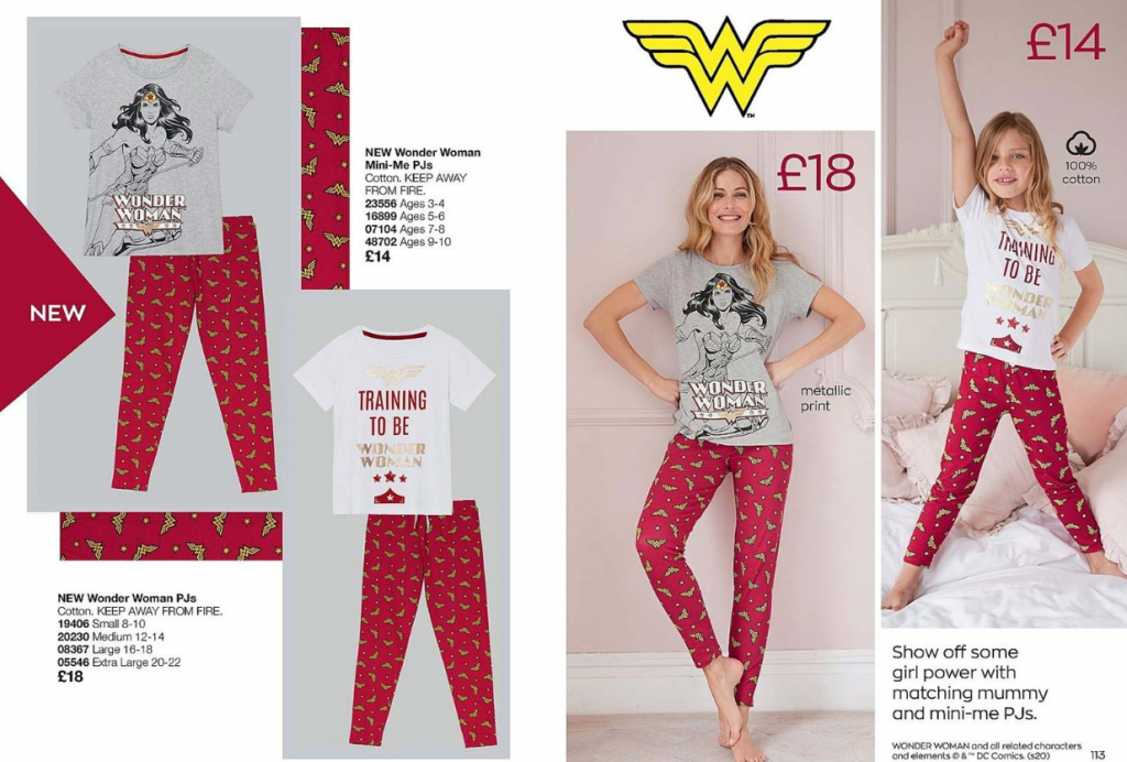 Avon Campaign 8 2020 UK Brochure Online - Wonder Woman PJs