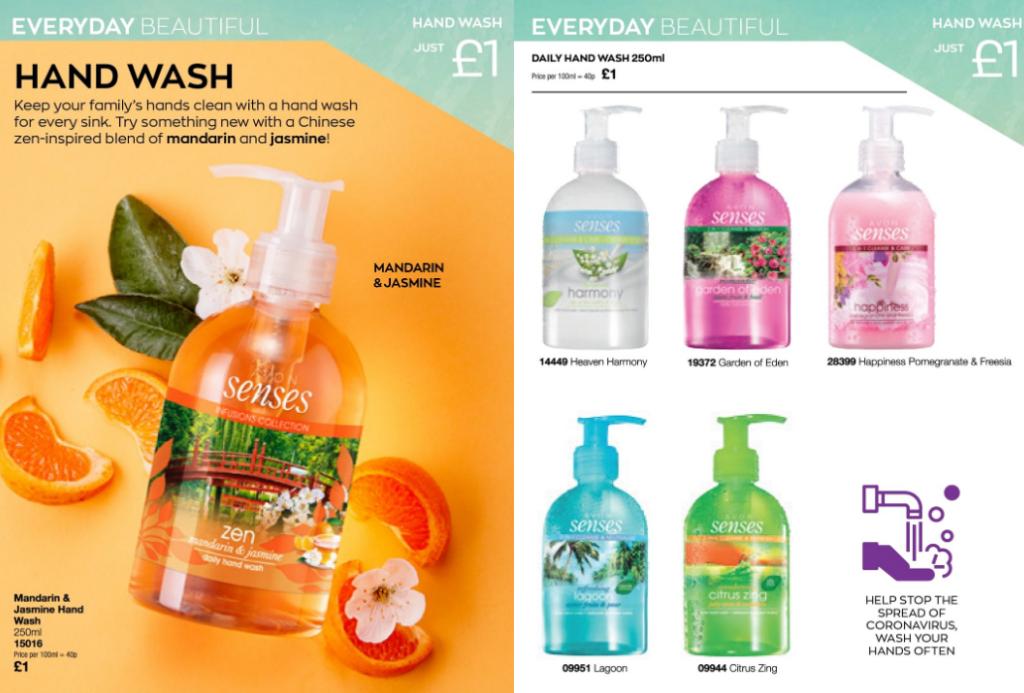 Avon Campaign 9 2020 UK Brochure Online - hand wash