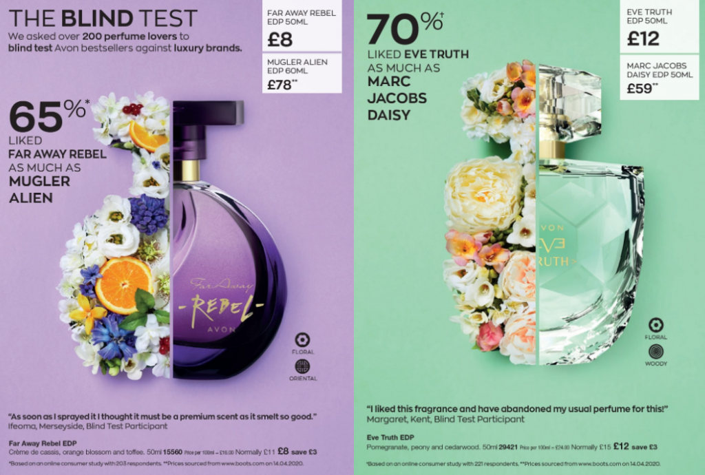 Avon Campaign 9 2020 UK Brochure Online - Far Away Rebel and Eve Truth
