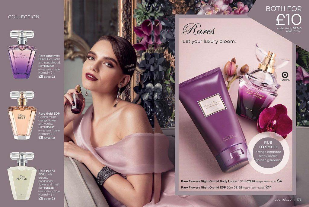 Avon Campaign 10 2020 UK Brochure Online - Rare Gold - Rare Amethyst - Rare Pearls
