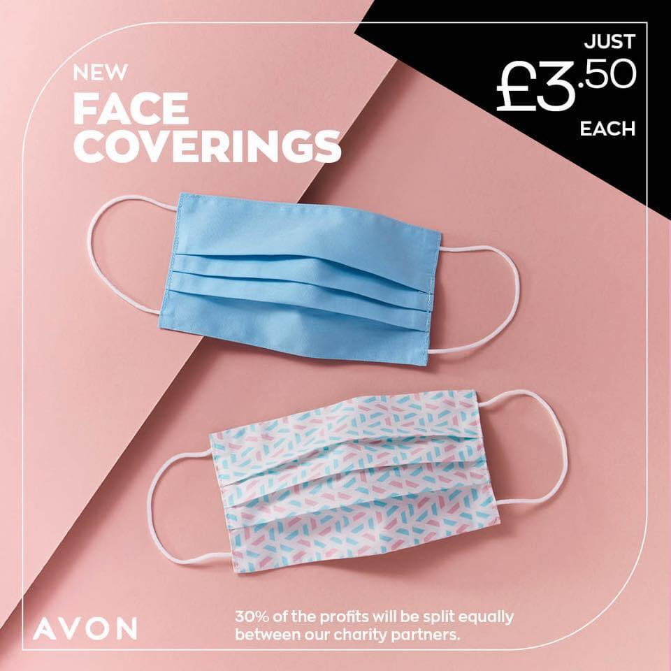 Avon Face Coverings - Avon face Masks