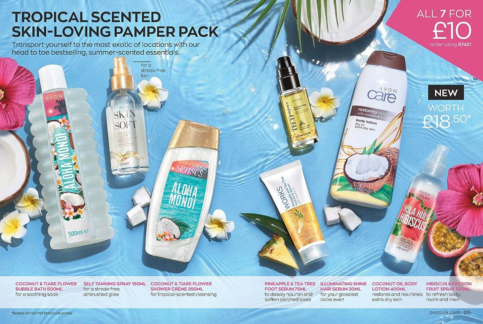 Avon Campaign 12 2020 UK Brochure Online- pamper pack