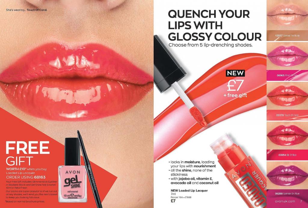 Avon Campaign 11 2020 UK Brochure Online - Loaded Lip Lacquer
