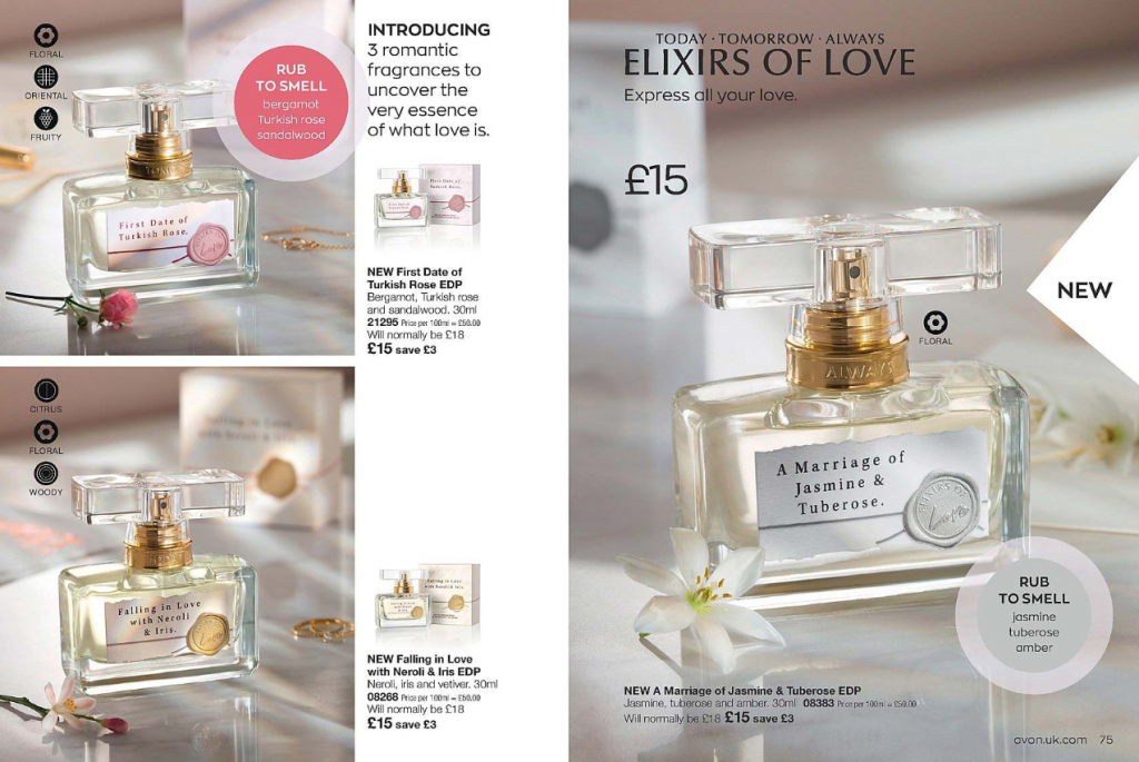 Avon Campaign 11 2020 UK Brochure Online - Elixirs of Love EDP