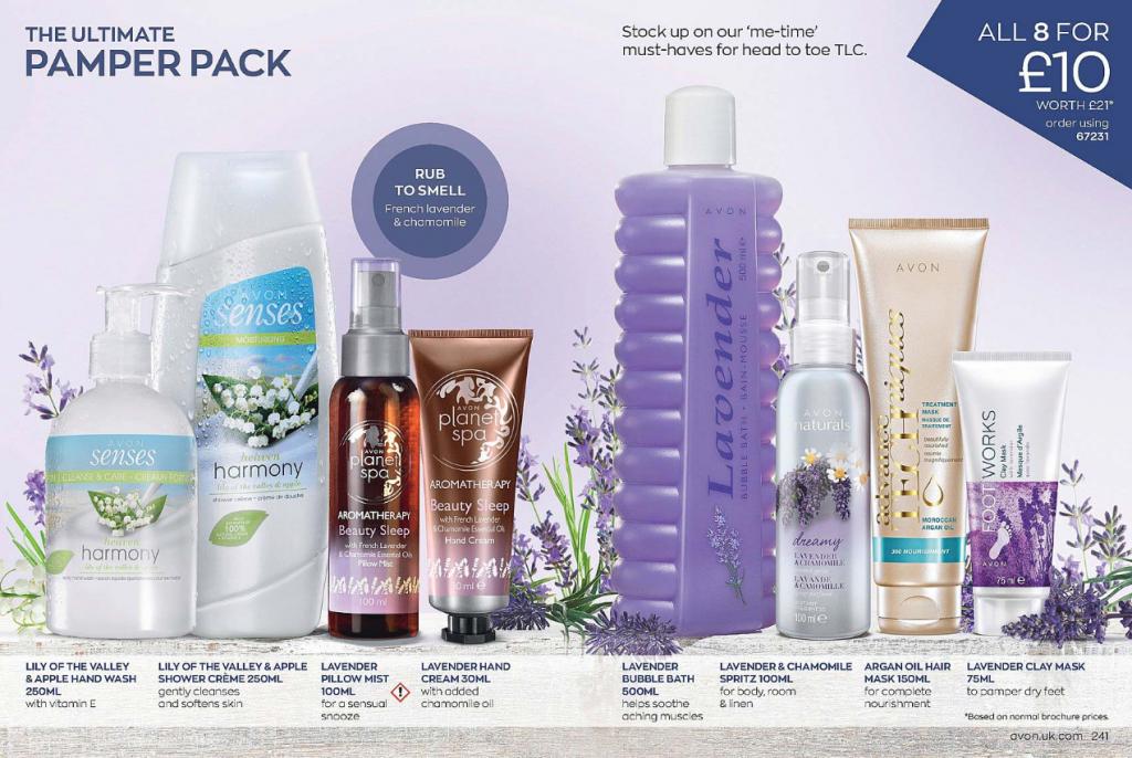 Avon Campaign 11 2020 UK Brochure Online - Ultimate Pamper Pack