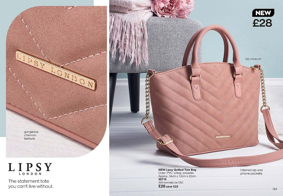 Avon Campaign 13 2020 UK Brochure Online - Lipsy bag