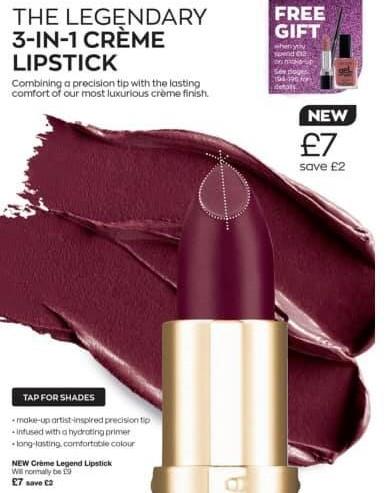 Avon Campaign 15 2020 UK Brochure Online - 3-in-1 lip creme