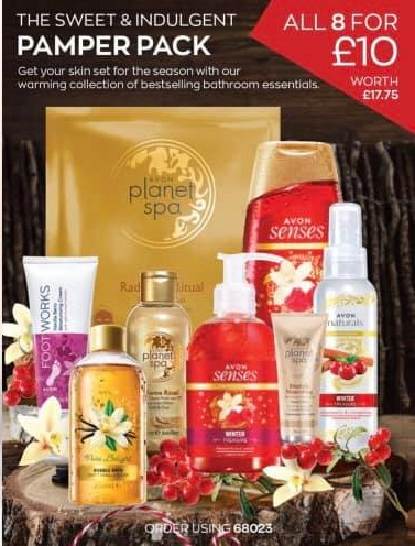 Avon Campaign 15 2020 UK Brochure Online - pamper pack