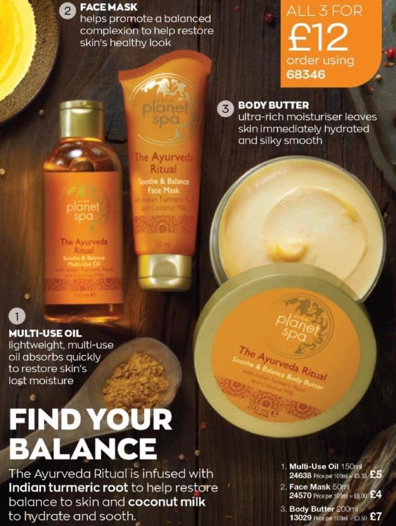 Avon Campaign 1 2021 UK Brochure Online - planet spa ayurveda ritual