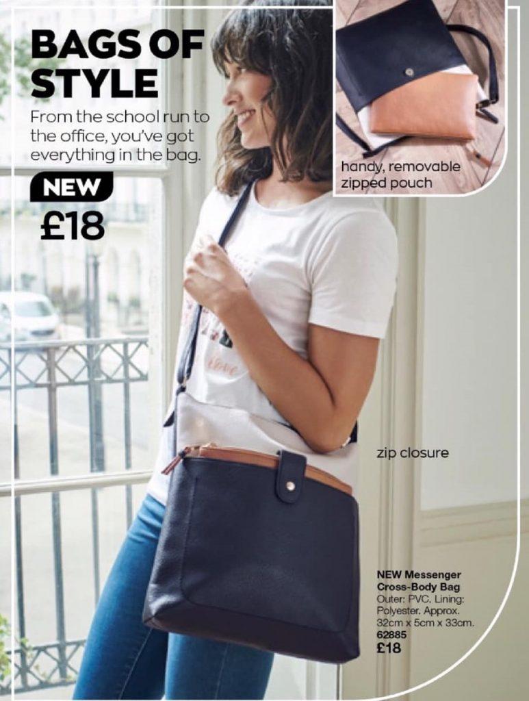 Avon Campaign 1 2021 UK Brochure Online - messenger cross-body bag