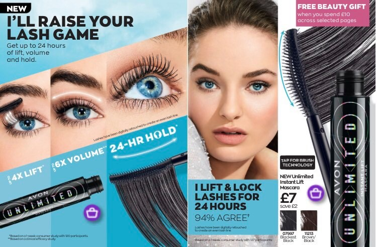 Avon Campaign 2 2021 UK Brochure Online - unlimited instant lift mascara