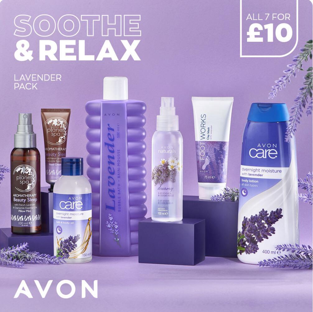 Avon Campaign 3 2021 UK Brochure Online - Lavender pack