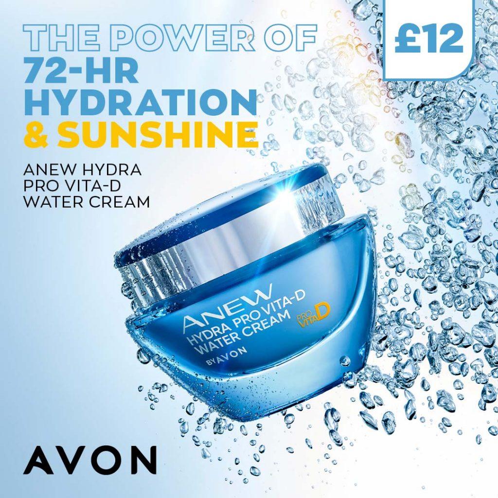 Avon Campaign 5 2021 UK Brochure Online - Hydra Pro Vita-D Water Cream