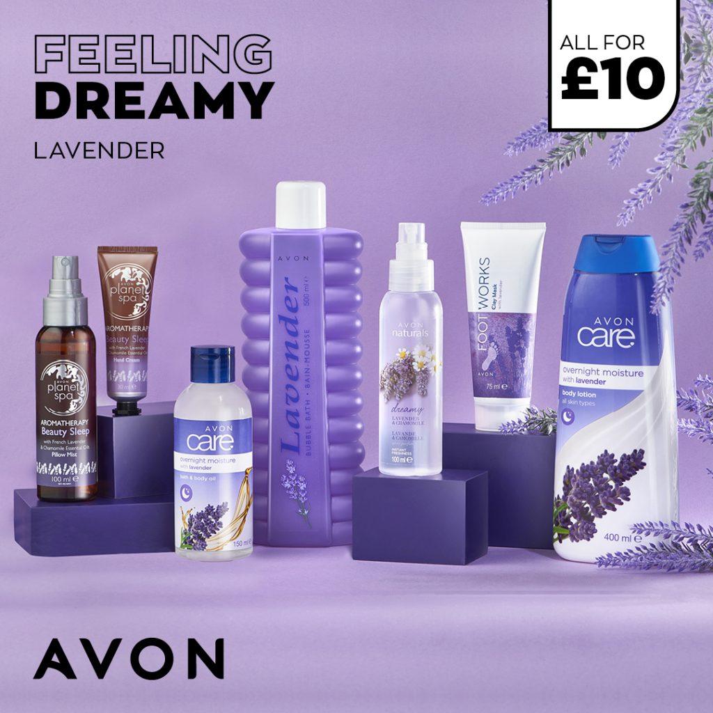 Avon Campaign 5 2021 UK Brochure Online - Lavender pamper set