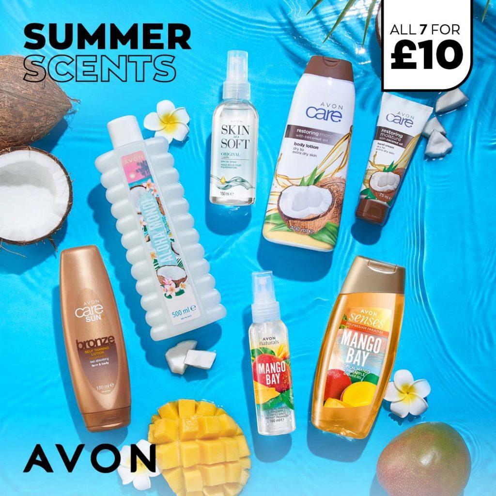Avon Campaign 6 2021 UK Brochure Online - Summer Pamper Pack