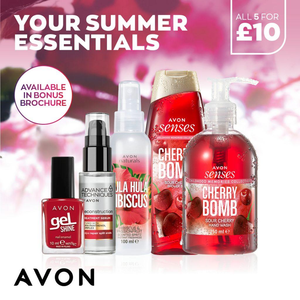 Avon Campaign 7 2021 UK Brochure Online - Summer Essentials
