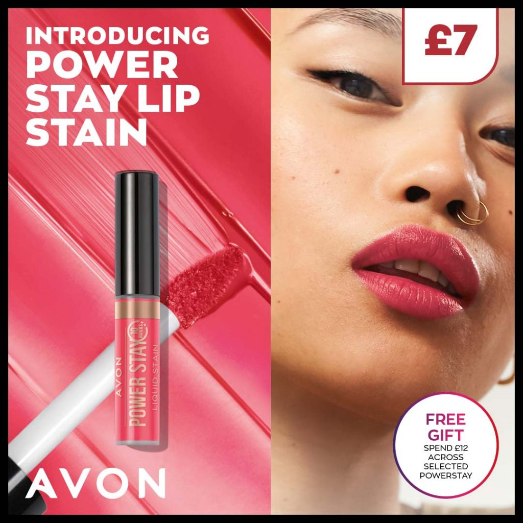 Avon Campaign 8 2021 UK Brochure Online - Power Stay Lip Stain
