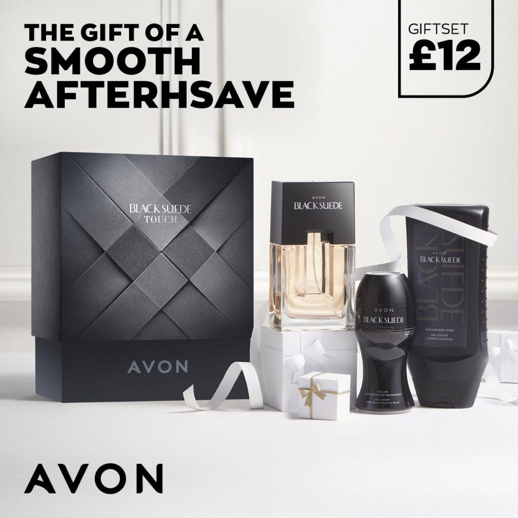 Avon Campaign 10 2021 UK Brochure Online - black suede gift set