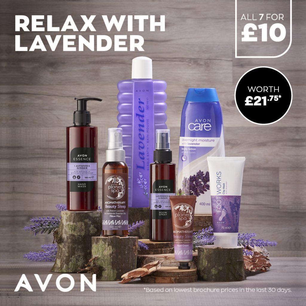 Avon Campaign 10 2021 UK Brochure Online - lavender pamper pack