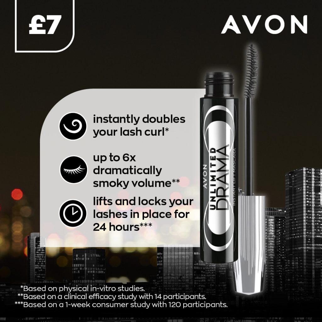 Avon Campaign 10 2021 UK Brochure Online - unlimited drama mascara