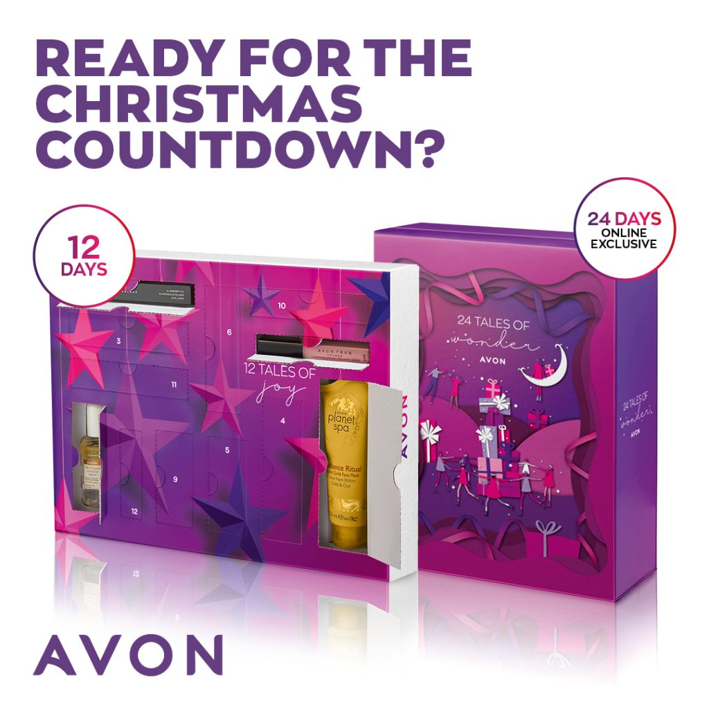 Avon Campaign 10 2021 UK Brochure Online - advent calenders